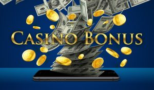 casino bonus, pengesedler, mobil
