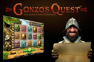 Gonzos Quest spilleautomat