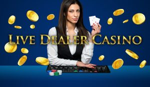 live dealer casino, kvinnelig dealer