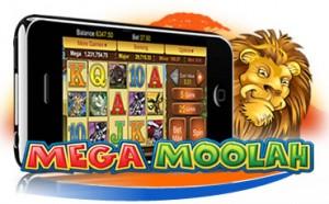 Mega Moolah jackpot spilleautomat