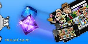 spill på mobil og nettbrett