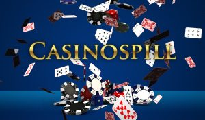casinospill, pokerchips, kortstokk