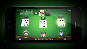 Blackjack mobil