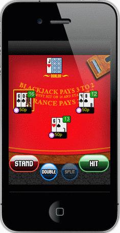 Blackjack på mobilen