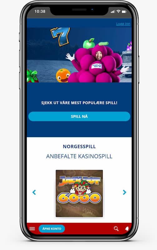 Norgesspill på mobilen