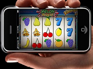 Spilleautomater på mobilen