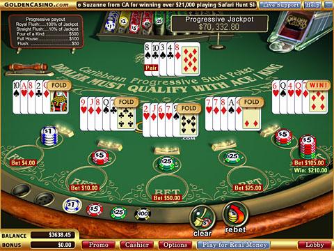 Spille penge poker værelser