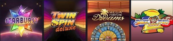 Spilleautomater hos Maria Casino