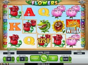 Flowers_spilleautomat