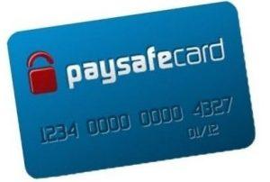 Paysafecard betaling