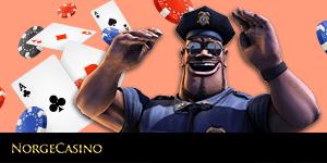 politimann og kort