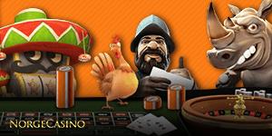 gonzo, roulette og mange andre spill hos Expekt Casino