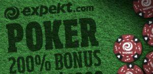 Poker bonus hos Expekt