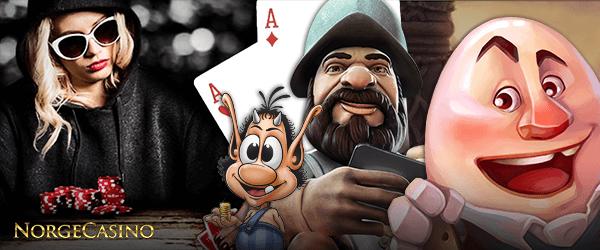 gonzo, spillekort og andre karakterer