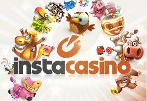 InstaCasino - 100 freespins + 10 000 kr i bonus!