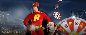 superhelt rizk og rizk hunden