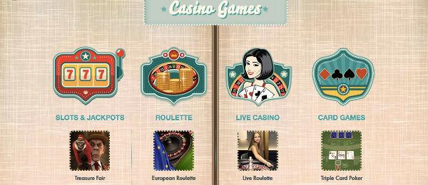 777 Casino spillutvalg