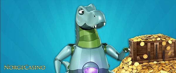 dinosaur med penger