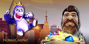 gonzo og lilla gorilla