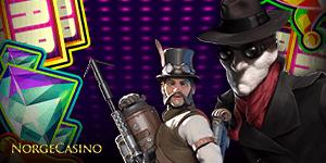 steampunk mann og detektiv