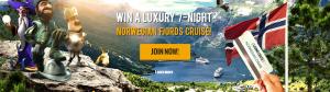 casinocruise, vinn norsk cruise, norgecasino.com