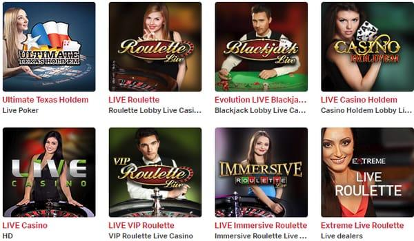 Live Casino hos mobilautomaten