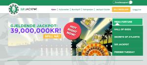 sirjackpot, norgecasino