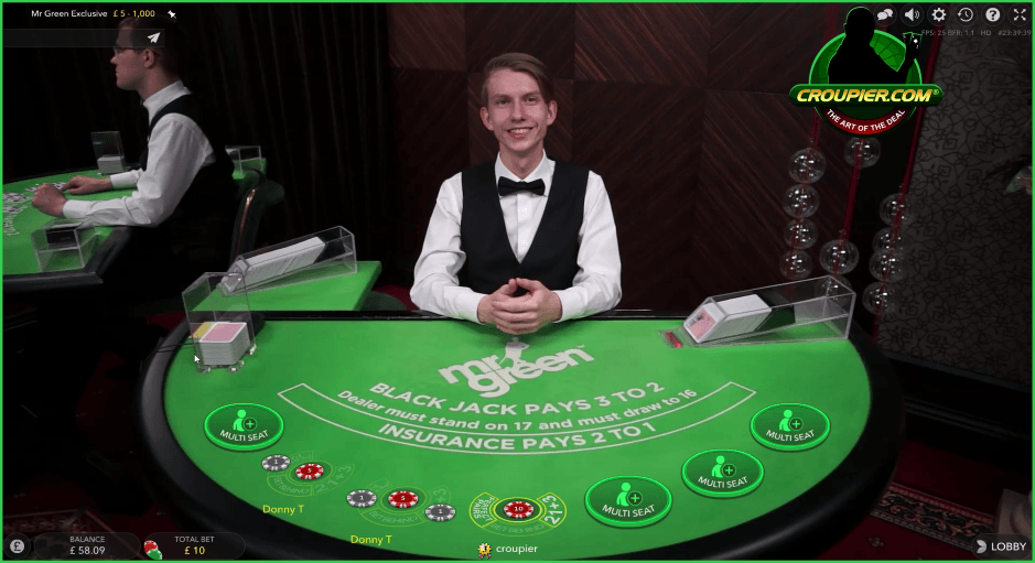 mr green man casino