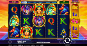 Cleo Queen of Egypt - en gratis at spille online spilleautomat