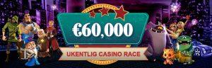 banner med ukentlig casino race
