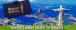 utsikt over rio de janeiro by, superlenny logo