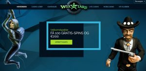 wixstars screenshot welcome