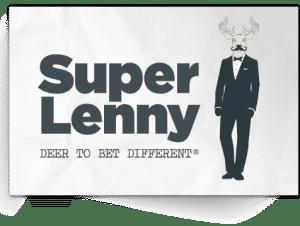 superlenny logoen