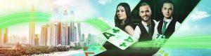live casino dealers og bybilde fra dubai