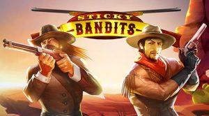 to cowboyer med våpen ute i ørkenen