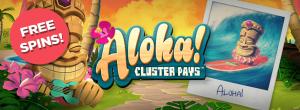 aloha cluster pays logo