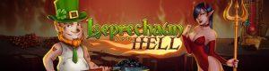 leprechaun og kvinnelige djevel i helvete