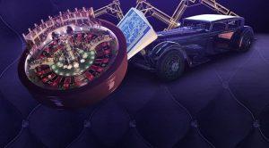 roulettehjul og bil