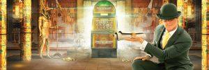 mr green, spilleautomat, egyptisk bakgrunn