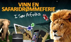 løve, elefant, nettbrett, telefon, bose høytaler, gavekort, sjetonger