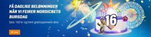 bursdagkake, gonzo, planet, mega jackpot