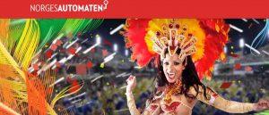 dame i karnevalutstyr