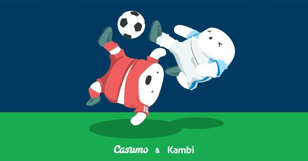 Casumo Odds levert av Kambi