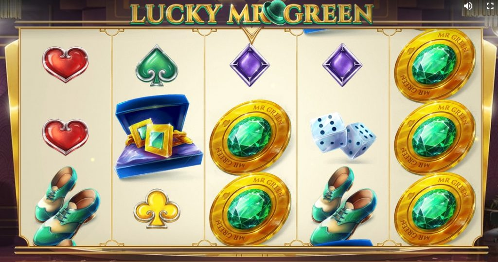 lucky mr green red tiger