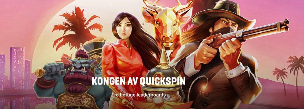 kongen av quickspin guts norge casino