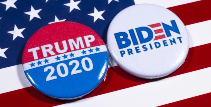 odds på det amerikanske presidentvalget